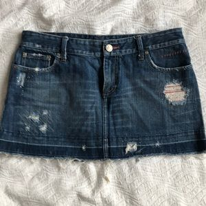 Denim mini skirt /email is cookster017@gmail.com